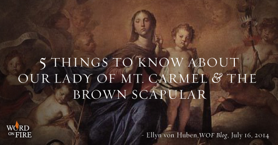 Our Lady of Mount Carmel – 16 July | Discalced Carmelite Secular